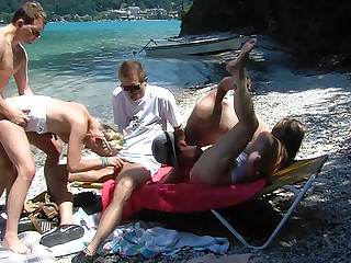 congregate in b induce family restore to health beach orgy