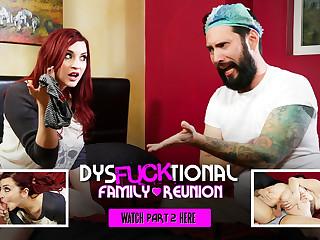 Amber Ivy roughly DysFUCKtional Family Reunion - Part 2 - BurningAngel