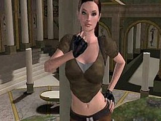 Lara Croft fucked by a demon without even trying obtainable 3dSexVilla2