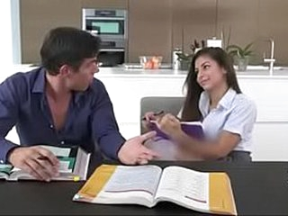 Nina North's Hot Making love thither her Teacher - Home tutor!