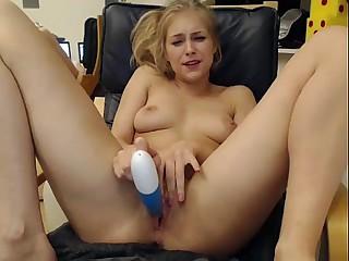 Girls4cock.com *** Glum Teen Cums For You Coupled wide Fucks Pussy out of reach of Camera