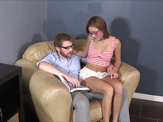 Teen Daughter Tempts Step Father - Credentials Therapy