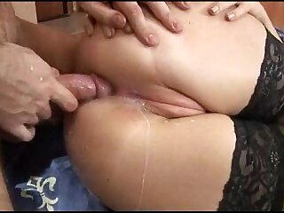 Brunette Russian Teen Extreme Anal