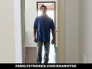 Familystrokes smutty family fuck fest on july 4