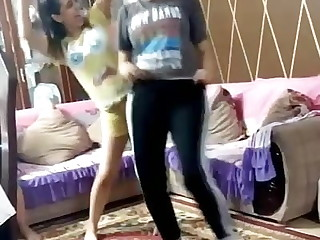 Egyptian girl, X-rated dance