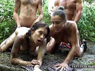 Extreme dirty taboo family orgy part 2