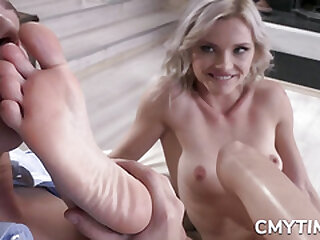 Sultry Blonde drilled from behind
