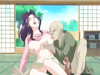 Mom Japanese hentai gets squeezed say no to bigboobs