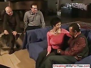Cuckold wife gets bbc