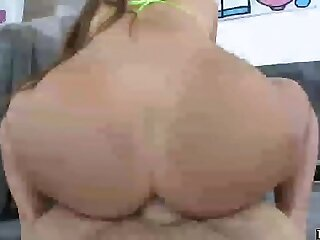 Gia Derza hard anal riding and deepthroat
