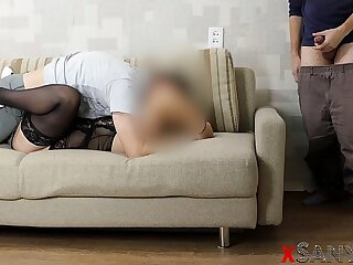 4K- Sharing Wife. Husband Watches His Hot Wife Fuck Best Friend - xSanyAny
