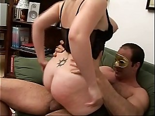 Hot orgy with a young blondie slut